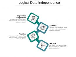 Logical Data Independence Ppt Powerpoint Presentation Outline Guidelines Cpb