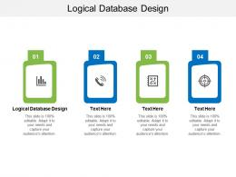 Logical Database Design Ppt Powerpoint Presentation Outline Aids Cpb