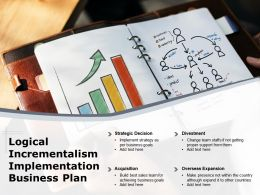 Logical Incrementalism Implementation Business Plan