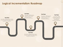 Logical Incrementalism Roadmap N353 Ppt Powerpoint Presentation Infographic Template