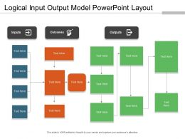 Logical Input Output Model Powerpoint Layout