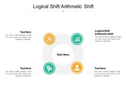 Logical Shift Arithmetic Shift Ppt Powerpoint Presentation Icon Microsoft Cpb