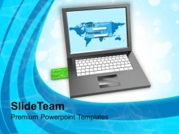 Login Screen And Credit Card Security Powerpoint Templates PPT Themes And Graphics 0113
