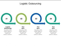 Logistic Outsourcing Ppt Powerpoint Presentation Icon Summary Cpb