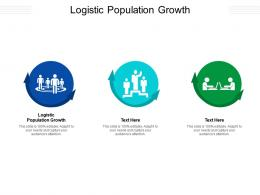 Logistic Population Growth Ppt Powerpoint Presentation Outline Smartart Cpb