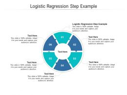 Logistic Regression Step Example Ppt Powerpoint Presentation Icon Example Cpb