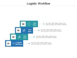 Logistic Workflow Ppt Powerpoint Presentation File Formats Cpb