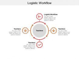 Logistic Workflow Ppt Powerpoint Presentation Pictures Portfolio Cpb