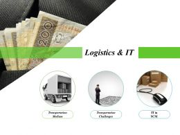 Logistics And It Powerpoint Slide Designs