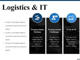 Logistics And It Ppt File Designs