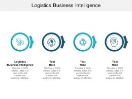 Logistics Business Intelligence Ppt Powerpoint Presentation Outline Graphics Cpb