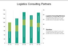 Logistics Consulting Partners Ppt Powerpoint Presentation Icon Clipart Cpb