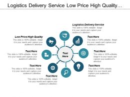 Logistics Delivery Service Low Price High Quality Sales Management Cpb
