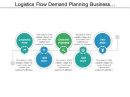Logistics Flow Demand Planning Business Networking Business Development Cpb
