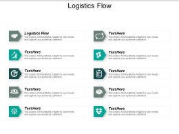 Logistics Flow Ppt Powerpoint Presentation Layouts Ideas Cpb