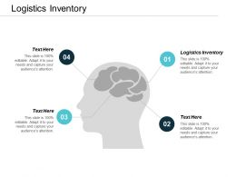 Logistics Inventory Ppt Powerpoint Presentation Styles Visual Aids Cpb