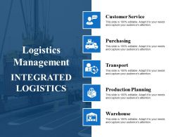 Logistics Management Ppt File Picture