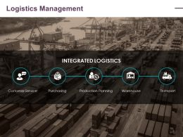 Logistics Management Ppt Layouts Inspiration