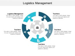 Logistics Management Ppt Powerpoint Presentation Gallery Example Topics Cpb
