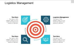 Logistics Management Ppt Powerpoint Presentation Gallery Graphics Tutorials Cpb