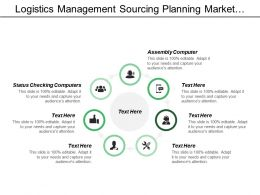 Logistics Management Sourcing Palnning Market Research Marketing Strategy