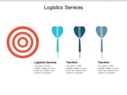 Logistics Services Ppt Powerpoint Presentation Summary Show Cpb