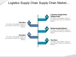 Logistics Supply Chain Supply Chain Market Analysis Report Cpb