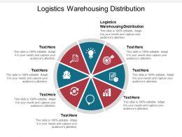 Logistics Warehousing Distribution Ppt Powerpoint Presentation Inspiration Layouts Cpb