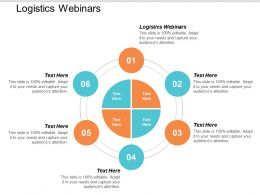 Logistics Webinars Ppt Powerpoint Presentation Styles Graphics Download Cpb