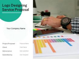Logo Designing Service Proposal Powerpoint Presentation Slides