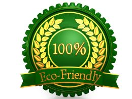 Logo Of Eco friendly Concept Stock Photo