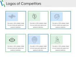 Logos Of Competitors Powerpoint Presentation