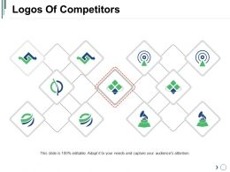 Logos Of Competitors Powerpoint Slide Themes