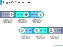 Logos Of Competitors Ppt Design