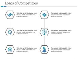 Logos Of Competitors Ppt Gallery Icon