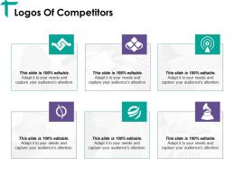 Logos Of Competitors Ppt Ideas