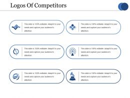 Logos Of Competitors Ppt Summary Clipart