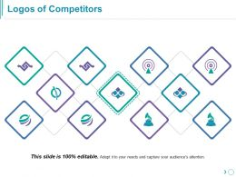 Logos Of Competitors Ppt Templates