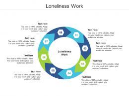 Loneliness Work Ppt Powerpoint Presentation Portfolio Ideas Cpb