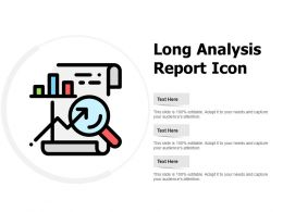 Long Analysis Report Icon