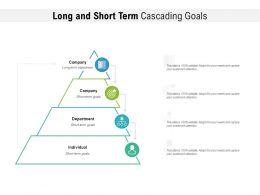 Long And Short Term Cascading Goals