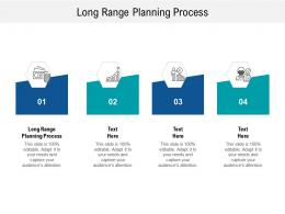 Long Range Planning Process Ppt Powerpoint Presentation Show Themes Cpb