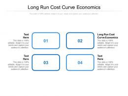 Long Run Cost Curve Economics Ppt Powerpoint Presentation Gallery Styles Cpb