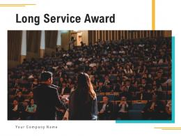 Long Service Award Employees Experience Management Planning Illustrating