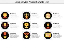 Long Service Award Sample Icon
