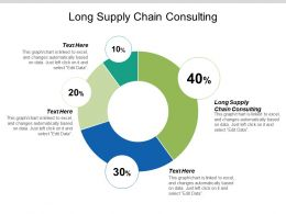 Long Supply Chain Consulting Ppt Powerpoint Presentation Icon Influencers Cpb