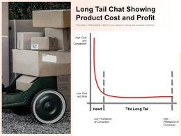 Long Tail Chat Showing Product Cost And Profit