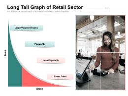 Long Tail Graph Of Retail Sector