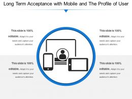 Long Term Acceptance With Mobile And The Profile Of User