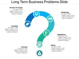Long Term Business Problems Slide